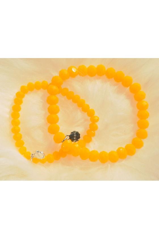 Armband, 2-teilig, gelb