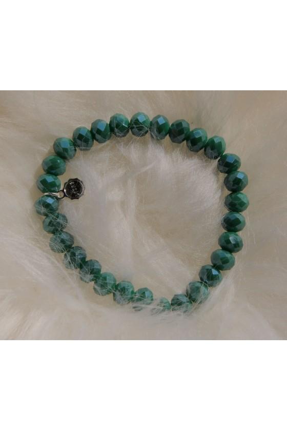 Armband, grün metallic