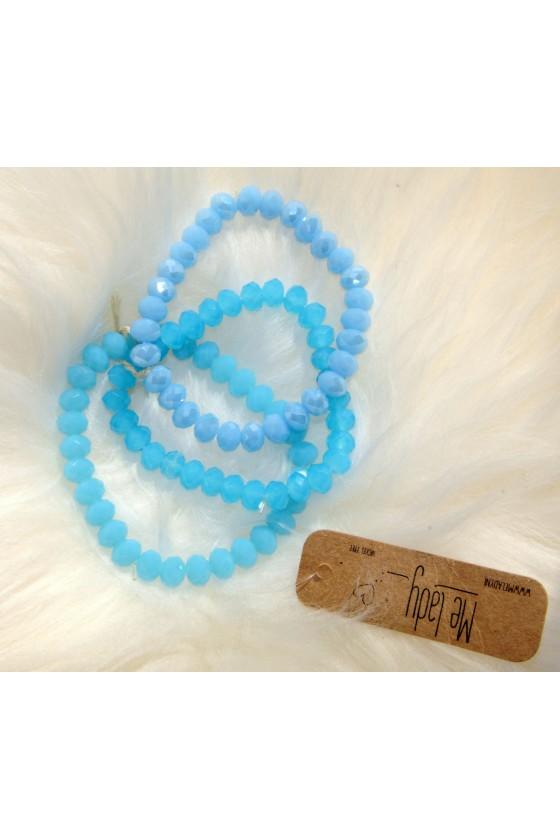 Armband-Set, blau