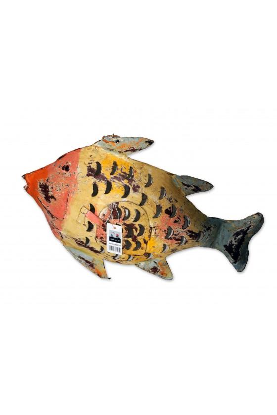 Windlicht, Fisch,...