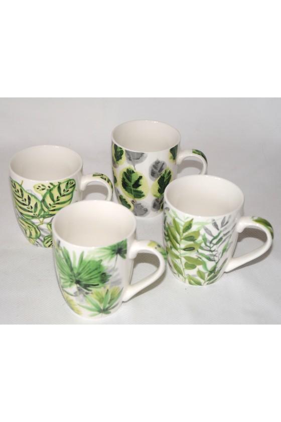 Tassen, Dschungel, 4er-Set,...