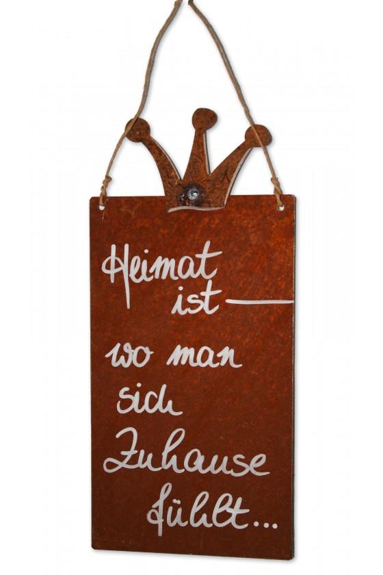 Rostschild, Schild zum...