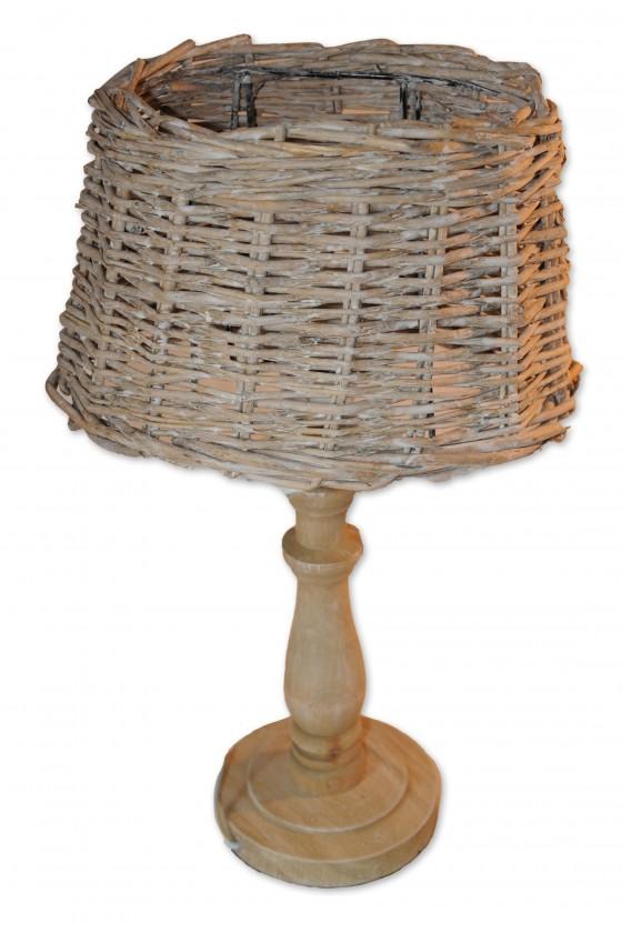 Stehlampe, Holz,...