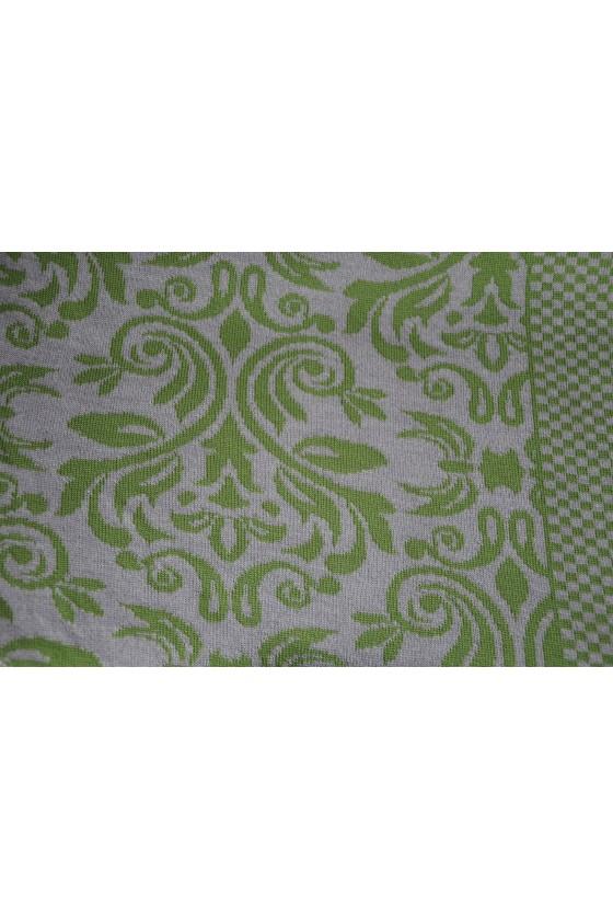 Dreieckstuch, Art en Laine, Versailles, grün/silber