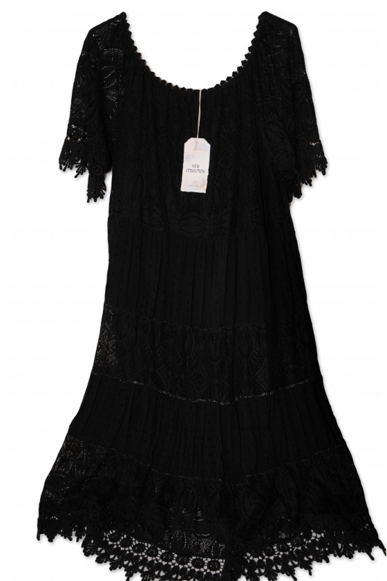 Kleid, Kurzkleid, schwarz,...