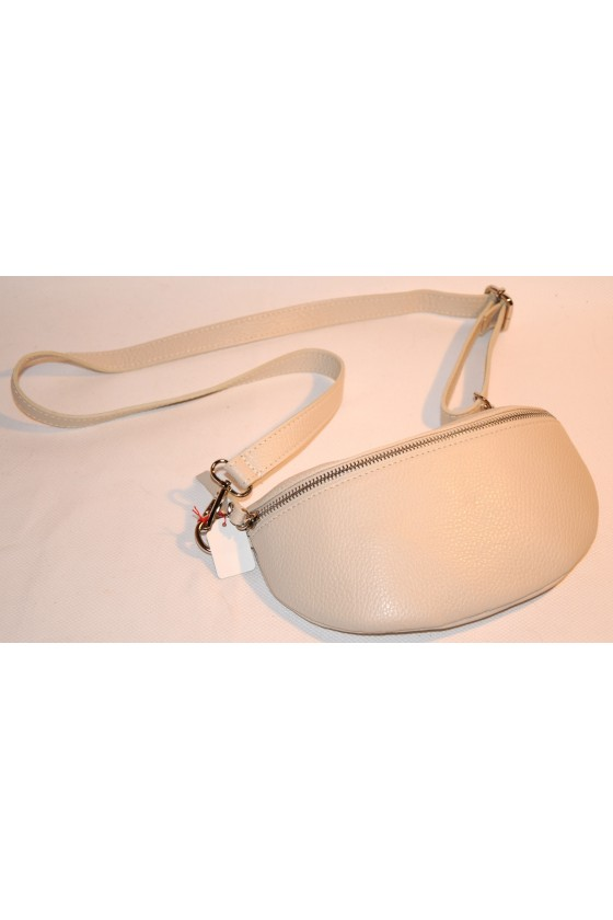 Cross-Body-Bag, creme, echt...
