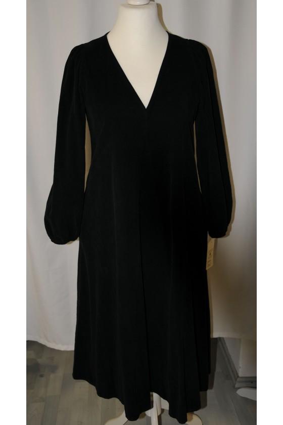 Kleid, lang, schwarz,...