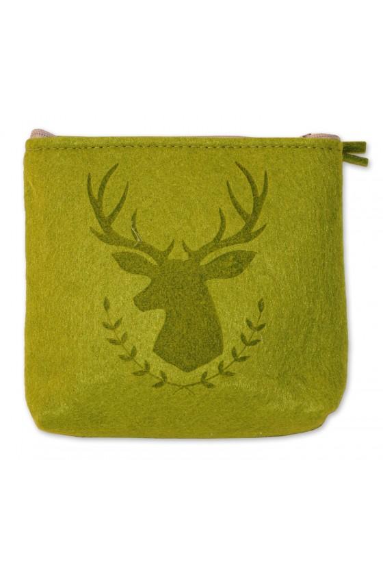 Tasche, Filztasche, grün,...