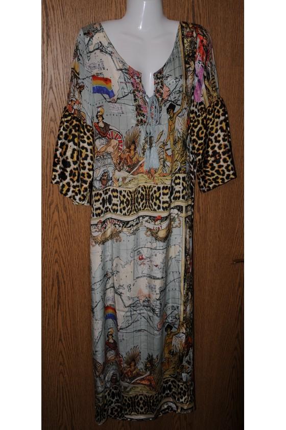 Kleid, lang,...