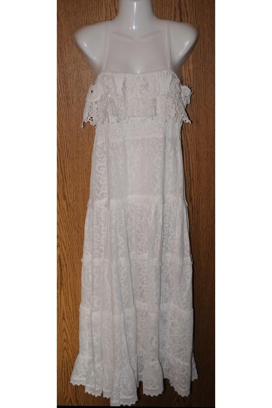 Kleid, Trägerkleid, lang,...