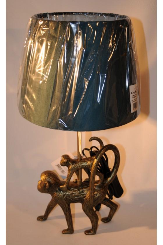 Stehlampe, Affen, gold,...