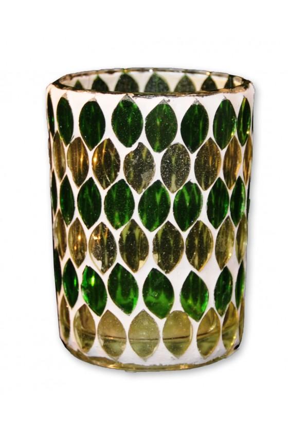 Windlicht, Mosaik, Glas,...