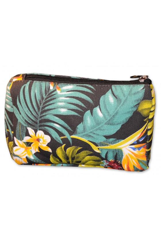 Tasche, Kulturbeutel, Mäppchen, Dschungelprint