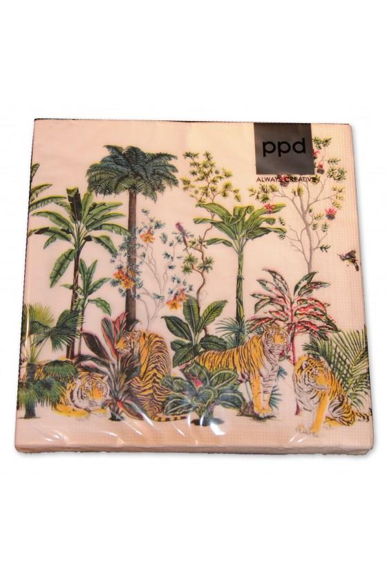 Servietten, Dschungel/Tiger