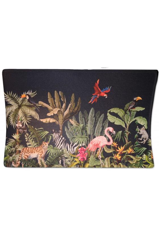 Türmatte, Dschungel/Flamingo, multicolor