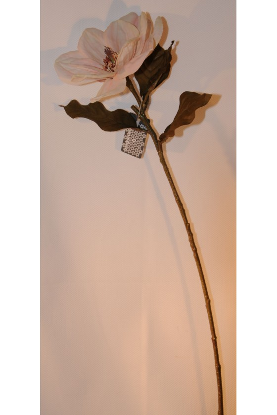 Blüte, Magnolie, creme, Kunstblume, 66 cm