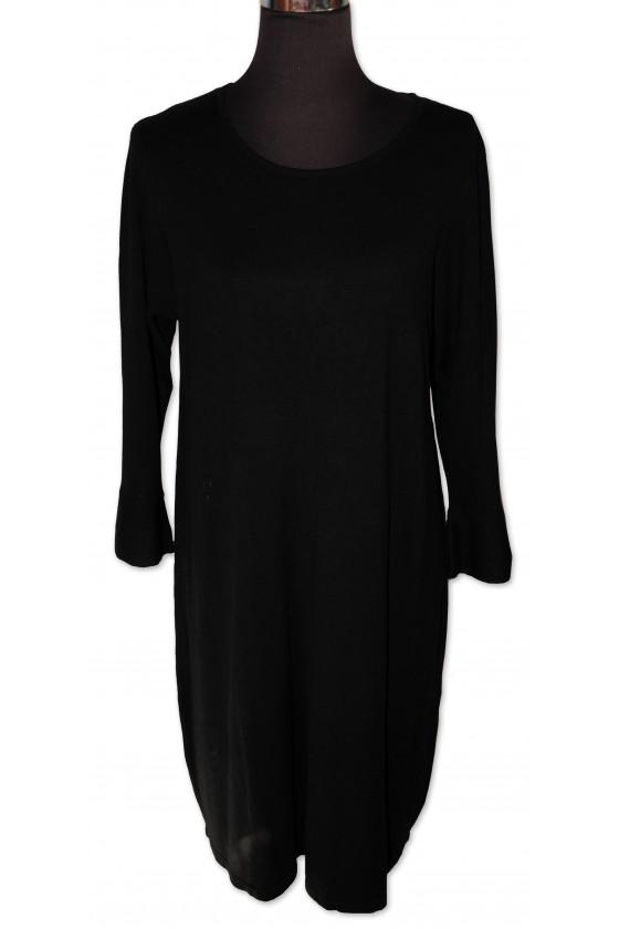Kleid, Strickkleid, schwarz...