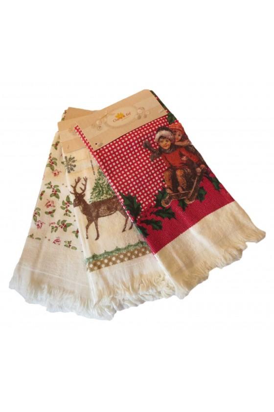 Handtuch-Set Wintermotive 1