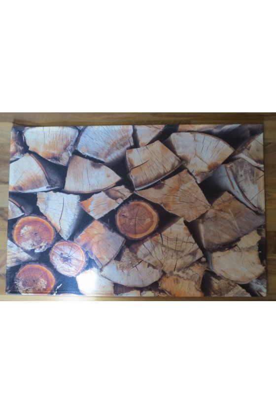 Fußmatte Holz
