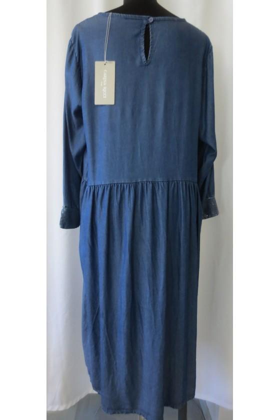 Kleid, Jeanskleid, dunkelblau