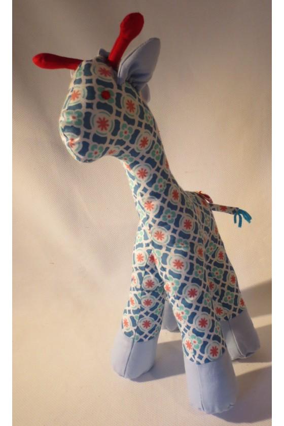 Spieltier, Giraffe, multicolor, Baumwolle