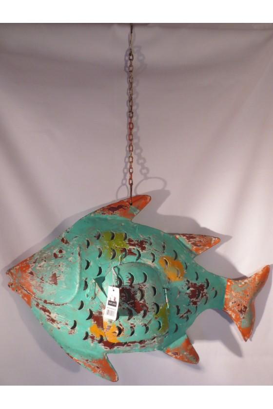 Windlicht, Laterne, Fisch